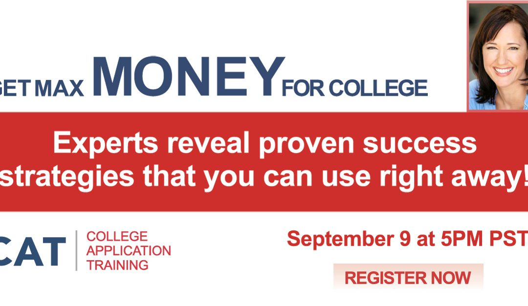 FREE Online Learning Event with Experts in College Funding