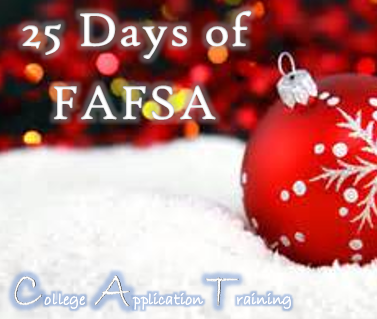 25 Days of FAFSA